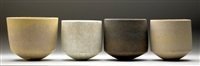 bowl (4 works) by john. ward