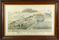 residence of mr. livingston, sharon, ny nr. ii by fritz g. vogt