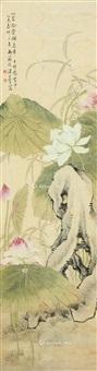 荷塘奇石 by tang shishu