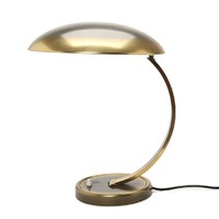 big table lamp with adjustable arm (model 6750) by christian dell