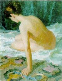 female nude by nickolai yakovenko