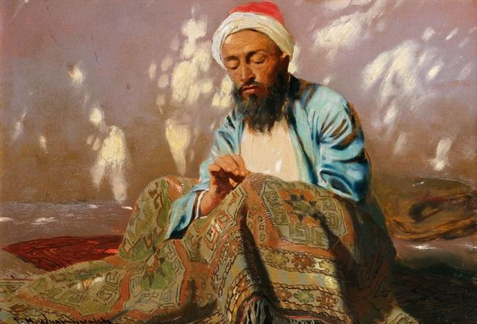 Teppichhändler  Der Teppichhändler von Felix Michal Wygrzywalski auf artnet