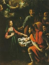 adorazione dei pastori by fabrizio santafede