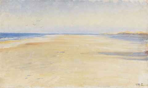 am strand von skagen by michael peter ancher