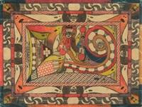 giranttka pl.71 (from verzeichniss selbst gemachter porträts-bilder, welche ich jeh, an herrn doktor morgenhaler im neu-bau der irren-anstalt waldau bei bern, schweiz, abgeliefert habe. skt. adolf ii, pattientt. per stück zu jeh, fr. 5.) by adolf wölfli