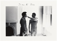 man to man (in 8 parts) by duane michals