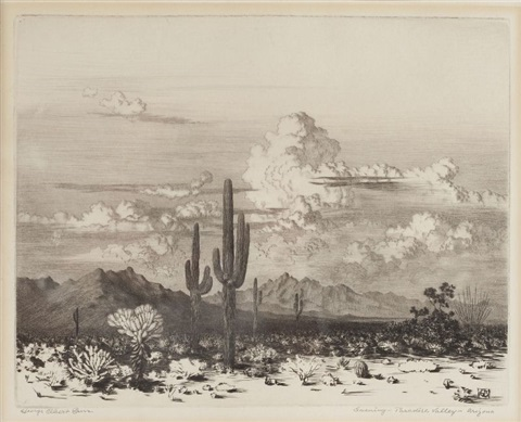 paradise valley az by george elbert burr