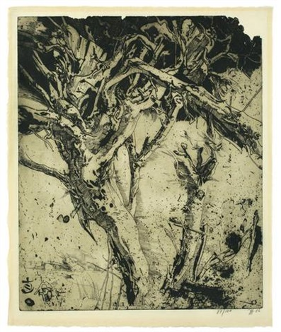 laokoon (portfolio of 25 w/title) by horst janssen