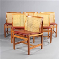 the king's furniture (set of 6) by rud thygesen