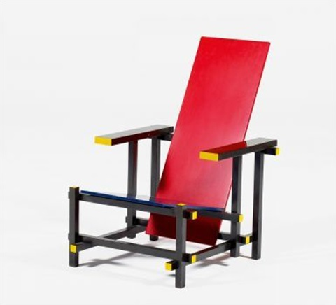 red and blue by gerrit rietveld
