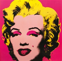 marilyn (2 works) by andy warhol