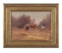 chasse à courre au chevreuil by antoine de la boulaye