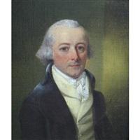 half length portrait of a gentleman by richard livesay