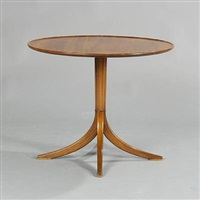 round coffee table by frits henningsen