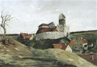 ruine katzenstein bei dischingen-neresheim by anton kurmaier