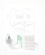 the buzzing of the blue guitar (from the blue guitar) by david hockney