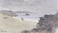 uferstück an der côte d'azur by hermann fischer