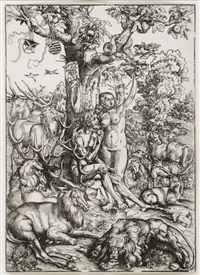 sündenfall by lucas cranach the elder