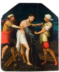 preparativos para la crucifixión by juan correa de vivar