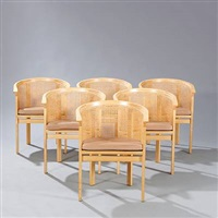 kongeserien armchair (set of 6) by rud thygesen
