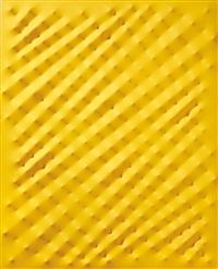 superficie gialla by enrico castellani