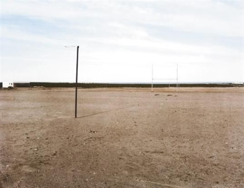 sports field by david goldblatt
