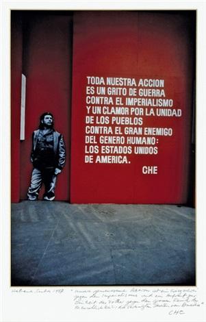 exhibition 20 years anniversary of ernesto che guevaras death havanna by rené burri