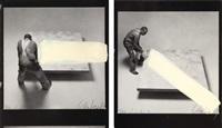 bildrituale - entwicklung eines werkes (fotoumwandlungen) (portfolio of 22 works after photographs by rolf schroeter) by günther uecker