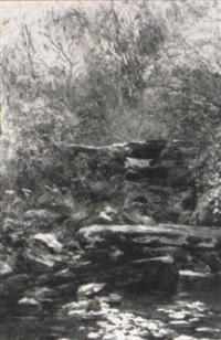 the two bridges, bettws-y-coed by isabel oakley naftel