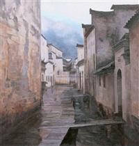 raining turning by bai zhanwang