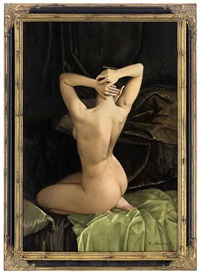 the artist's muse by nikolai leykin