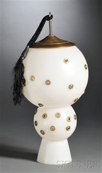 untitled (lamp sculpture) by r.m. fischer