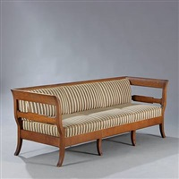 sofa/bench by frits henningsen