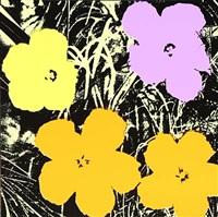 flower portfolio by andy warhol