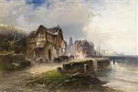 fischerdorf in der bretagne by nicolai von astudin