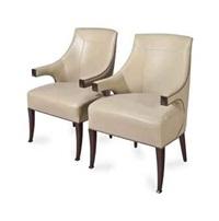 fauteuils (set of 4) by andré arbus