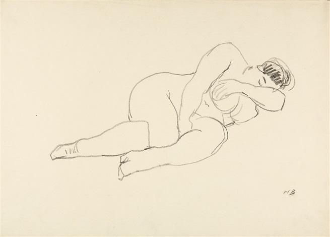 weibliche akte 2 works by hans böhler