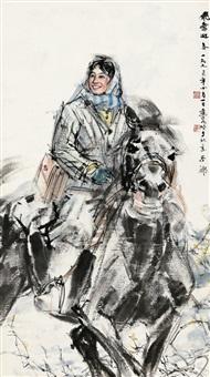 飞雪迎春 by huang zhou