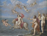 raub der europa by cornelis van poelenburgh