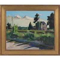 landscape by john evans