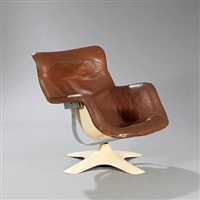 karuselli easy chair by yrjö kukkapuro