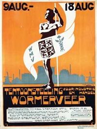 tentoonstelling voor industrie en handel wormerveer by cees bolding