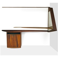 bar cabinet and shelf by wharton h. esherick