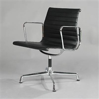 aluminum group side chair (model ea-108) by charles eames