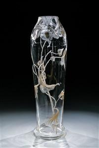 grosse vase by gräfliche harrach'sche glasfabrik (co.)