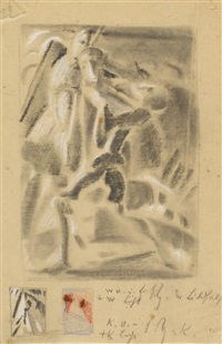 ohne titel (figurenkompositionen) by max ackermann