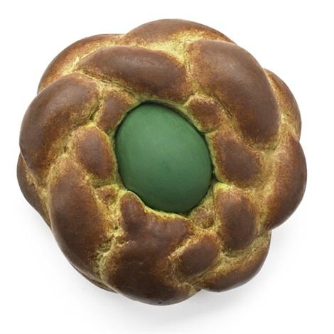 bread wegg green by jeff koons