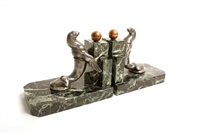 sea lion book ends by maurice frecourt
