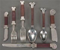 flatware (set of 73) by hector aguilar