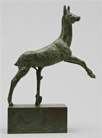 råbock - ur dianas jakt by carl (wilhelm emile) milles